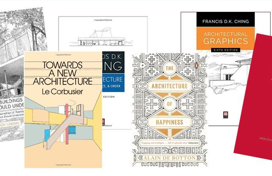 10 Books every Architecture Enthusiasts must read