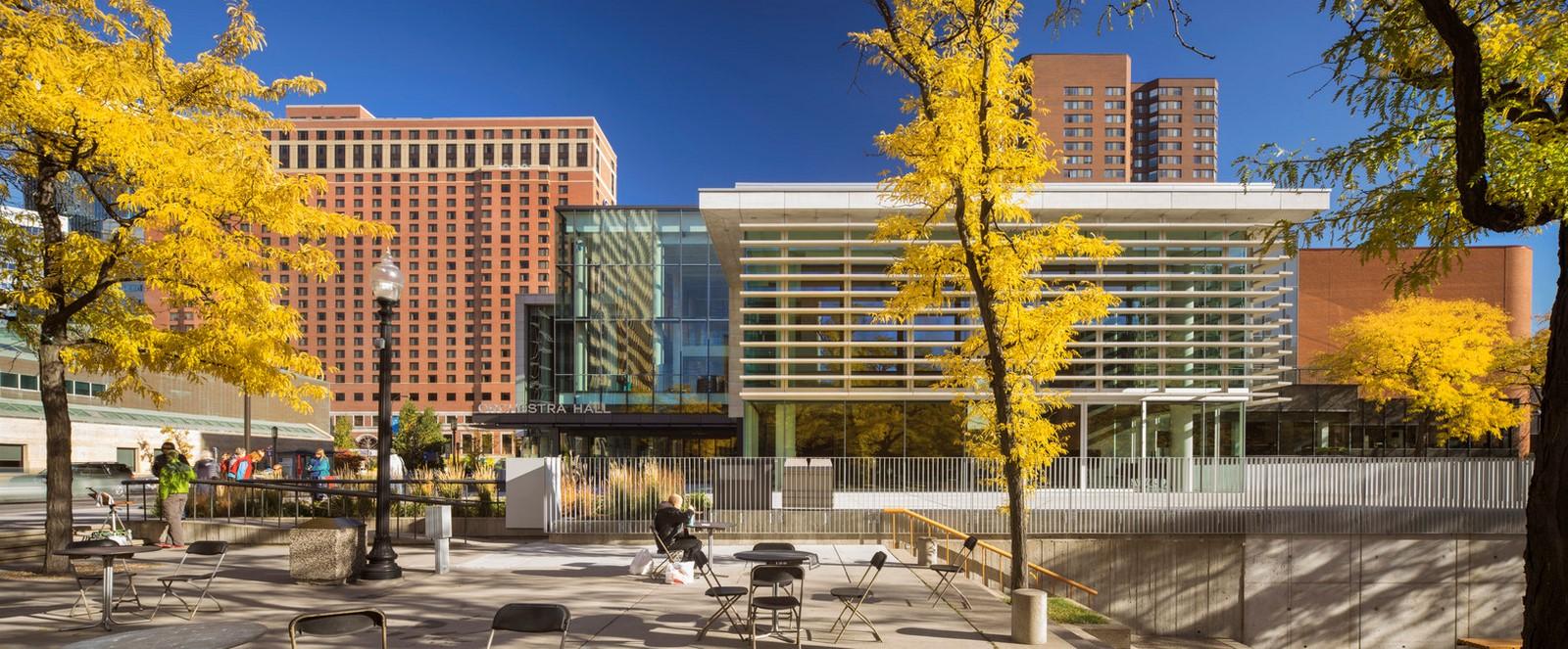 Minnesota Orchestra Hall, Minneapolis, United States - Sheet1