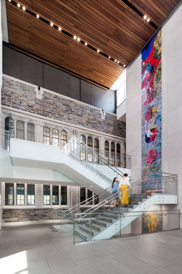Julis Romo Rabinowitz Building & Louis A. Simpson International Building, Princeton University, New Jersey, United States - Sheet2