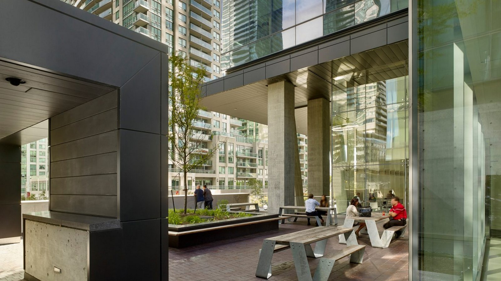 Southcore Financial Centre (Bremner Tower and PwC Tower), Toronto, Canada - Sheet3