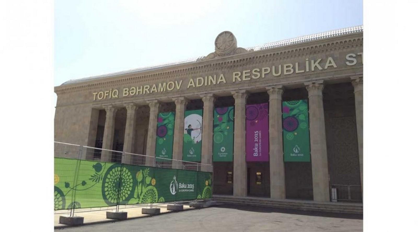 Baku European Games 2015 Archery - Sheet1