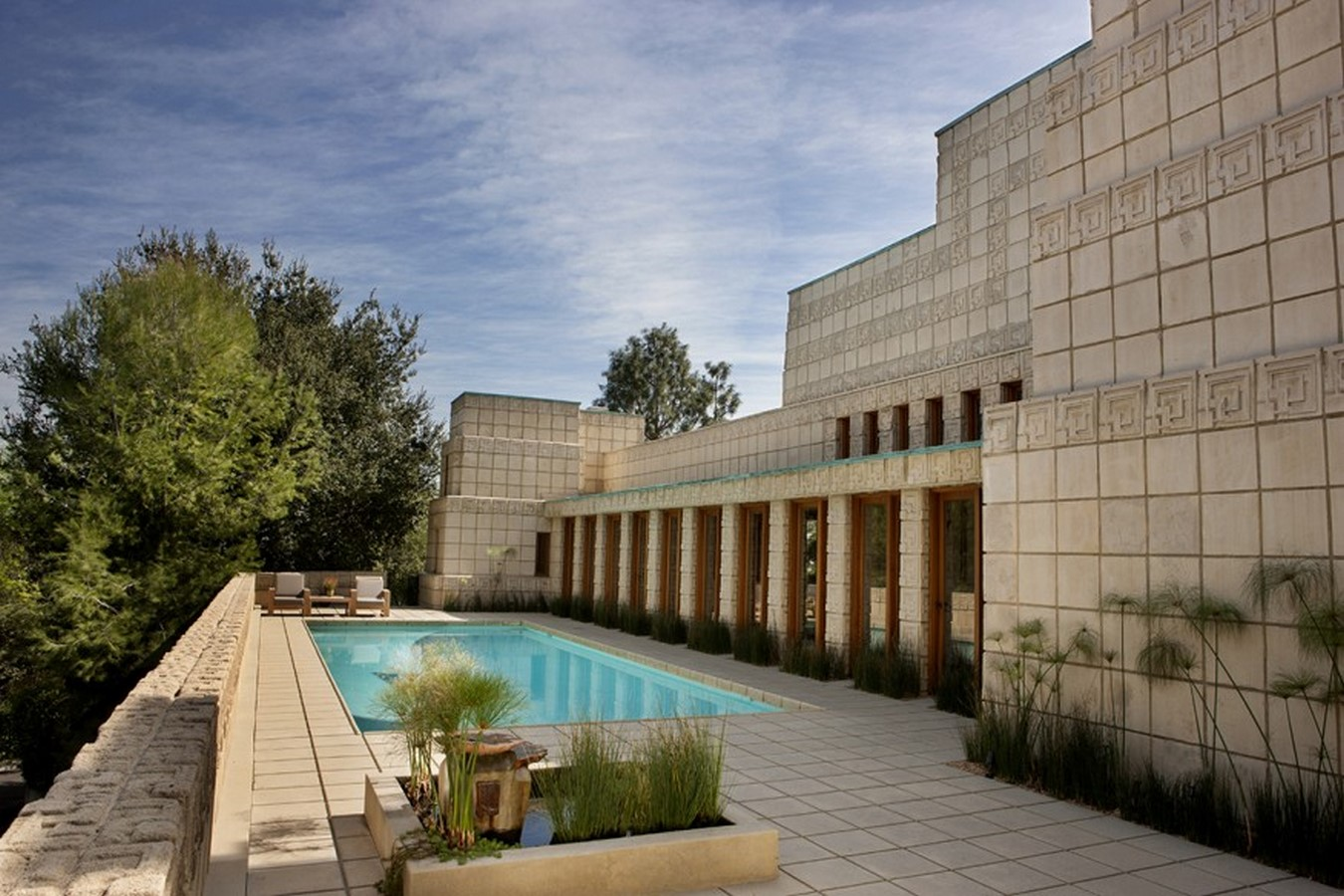 Ennis House by Frank Lloyd Wright A series of concrete block - Sheet3