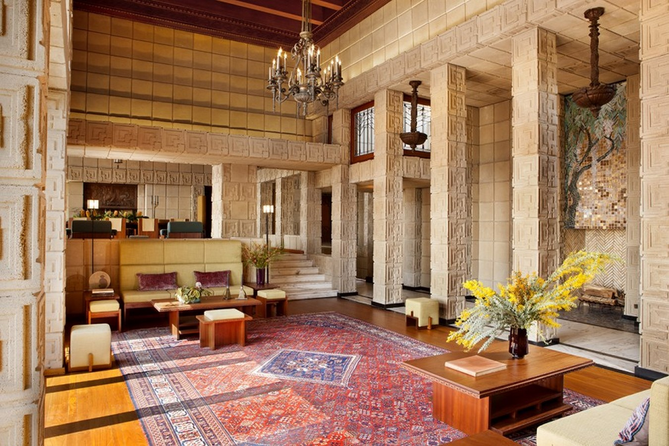 Ennis House by Frank Lloyd Wright A series of concrete block - Sheet6