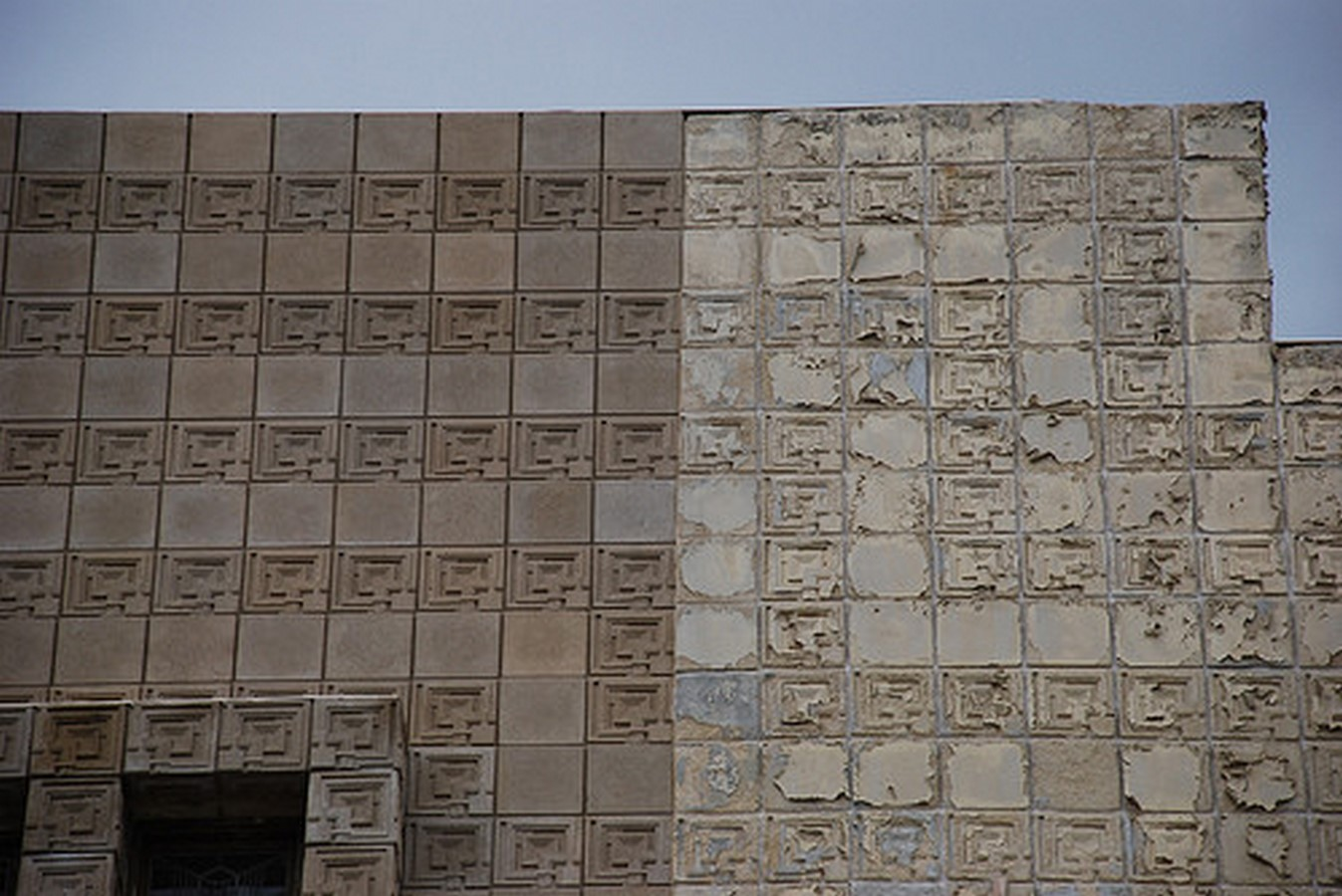 Ennis House by Frank Lloyd Wright A series of concrete block - Sheet9