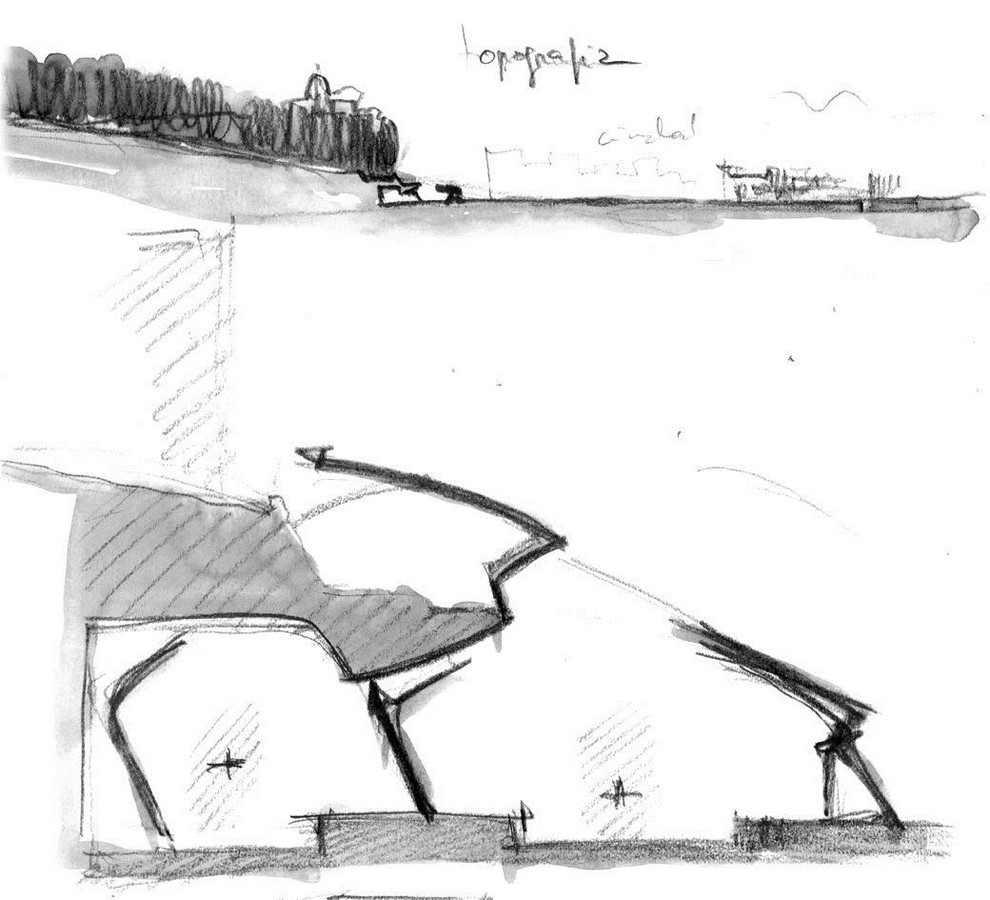 Zürich Stadelhofen Railway Station by Santiago Calatrava: Redefining the existing - Sheet22