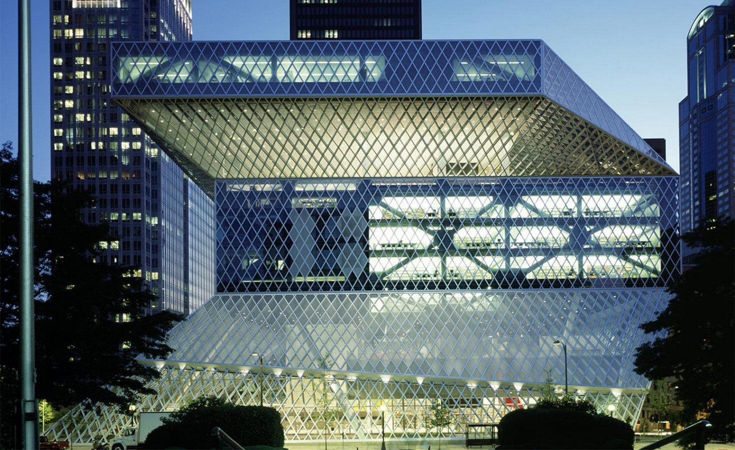 Seattle Central Library by Rem Koolhaas: Flexibility through contemporary - Sheet2