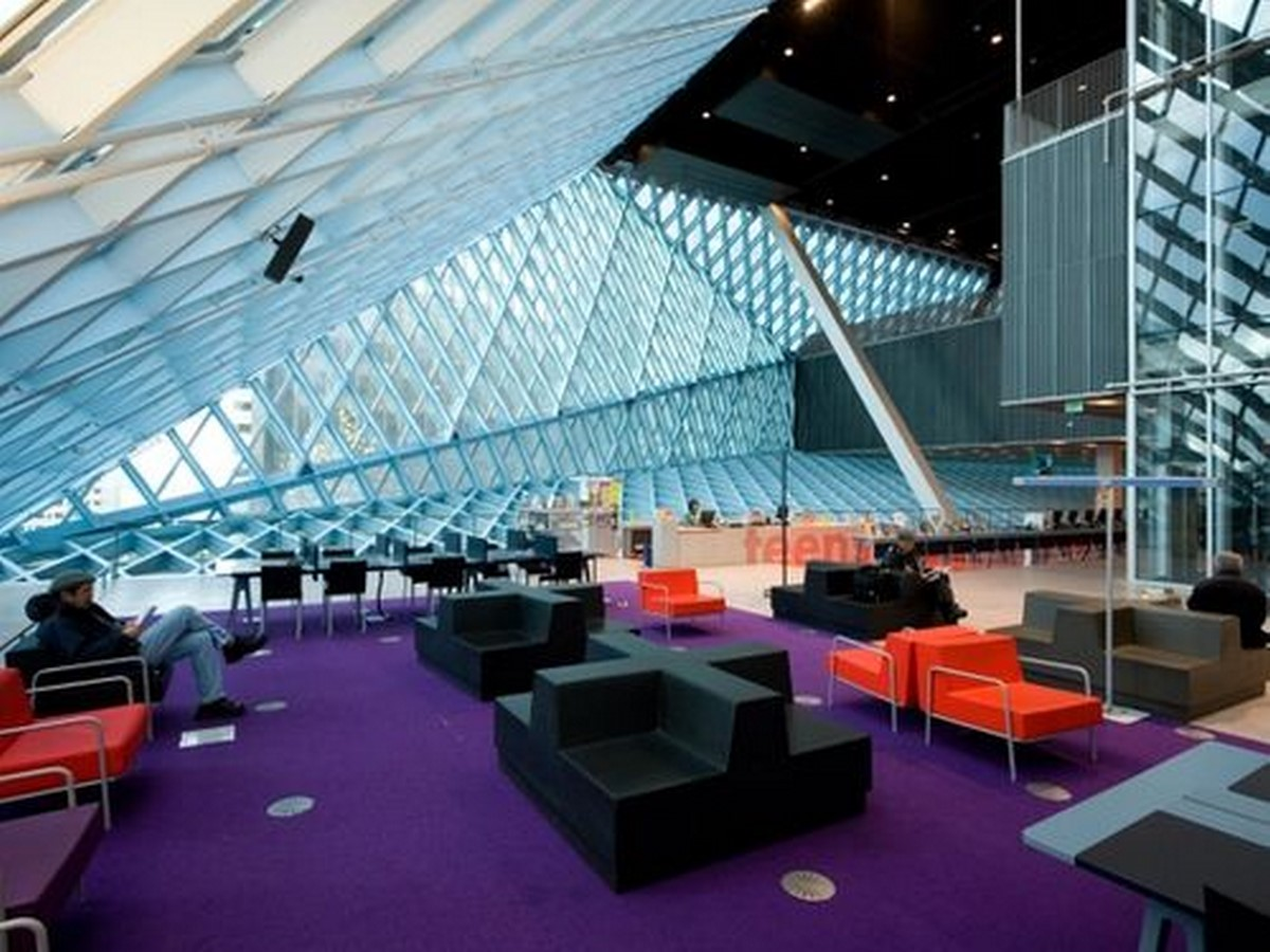 Seattle Central Library by Rem Koolhaas: Flexibility through contemporary - Sheet5