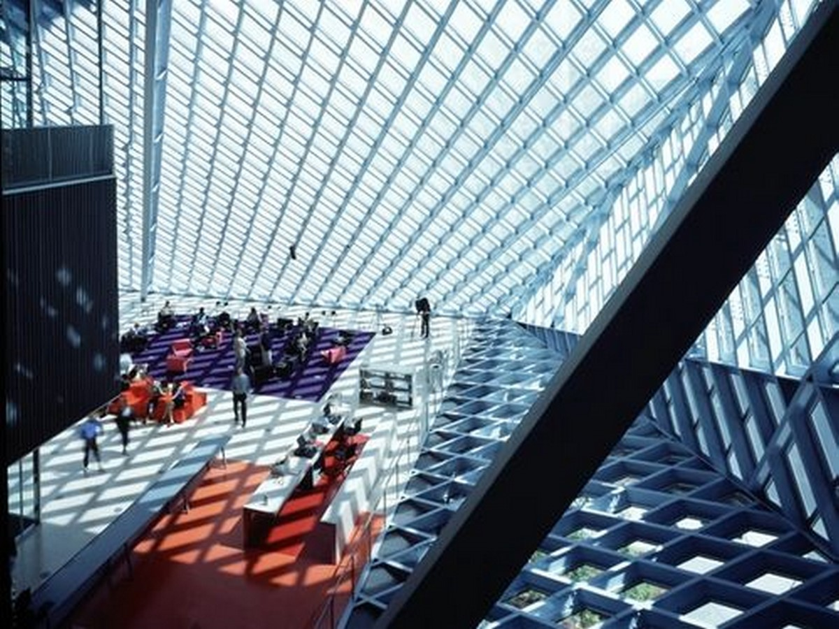 Seattle Central Library by Rem Koolhaas: Flexibility through contemporary - Sheet6