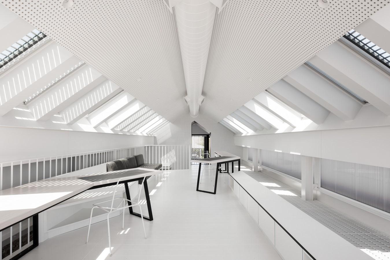 South Terrace Mezzanine House By Philip Stejskal Architecture - Sheet1
