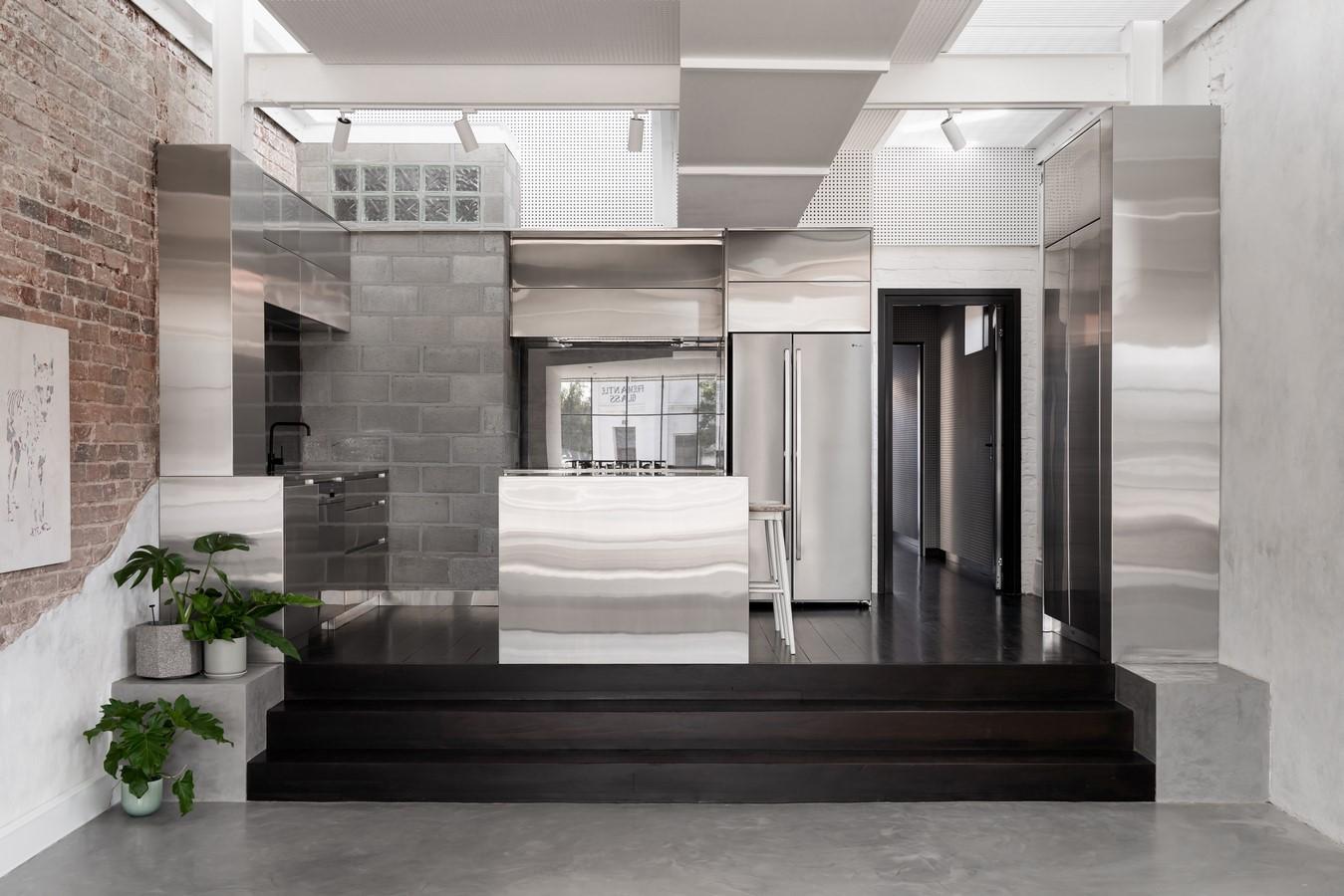 South Terrace Mezzanine House By Philip Stejskal Architecture - Sheet2