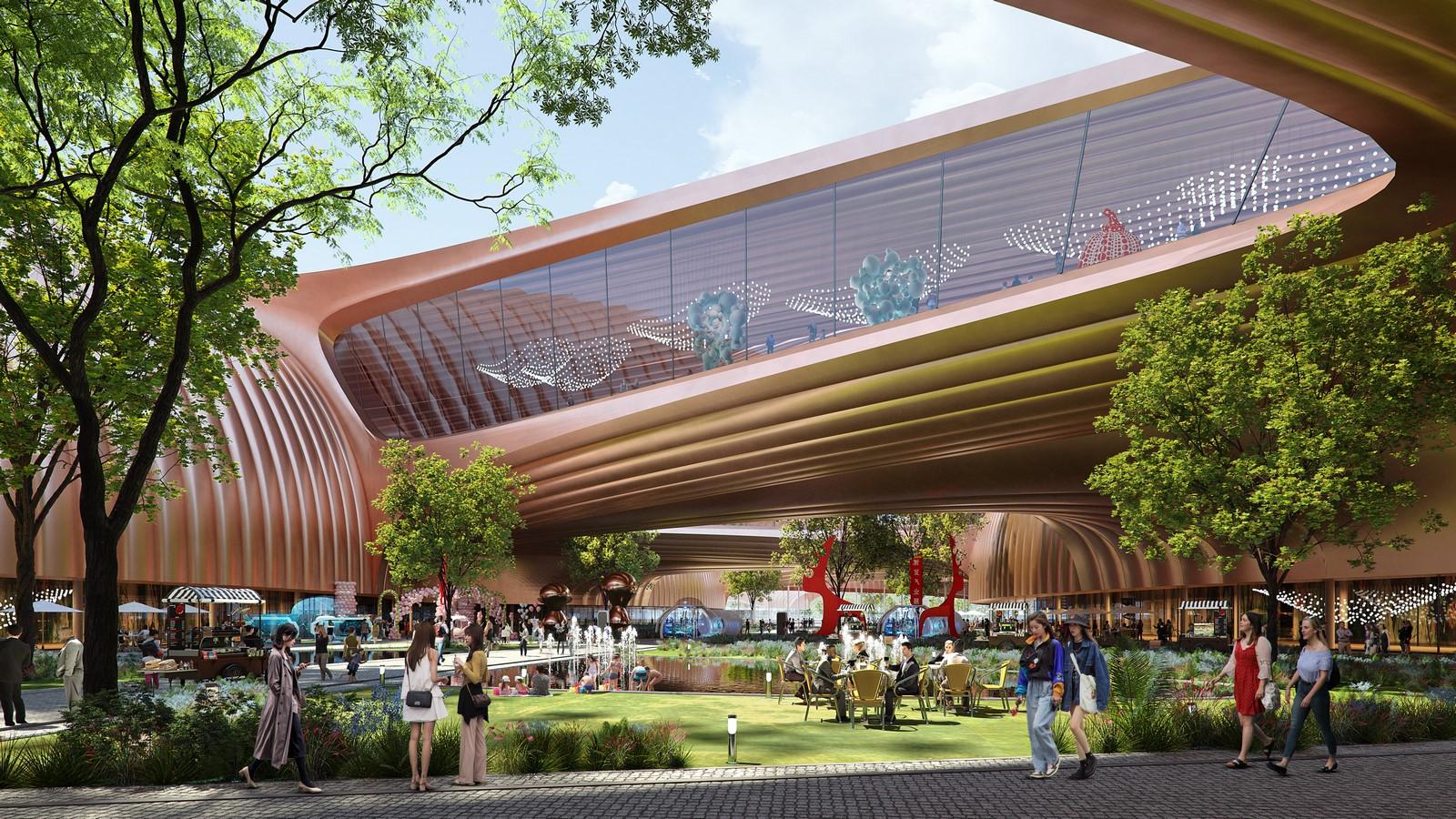 International Exhibition Centre by Zaha Hadid Architects - Sheet1