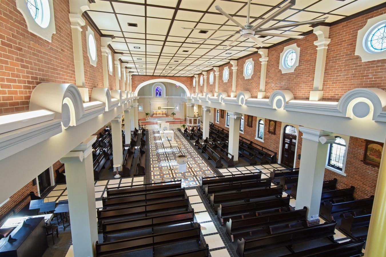 Sts Peter & Paul Church Renovation by dion seminara architecture - Sheet2