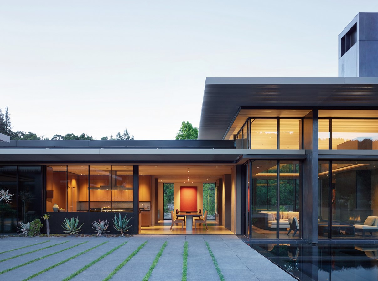 California Meadow House by Olson Kundig - Sheet1