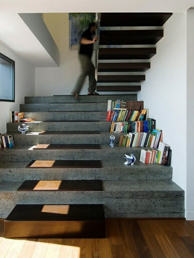 25 Concrete Staircases for Small Houses - sheet10