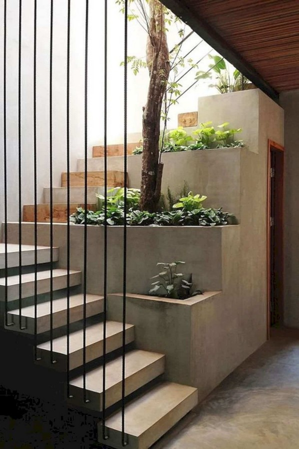25 Concrete Staircases for Small Houses - sheet15