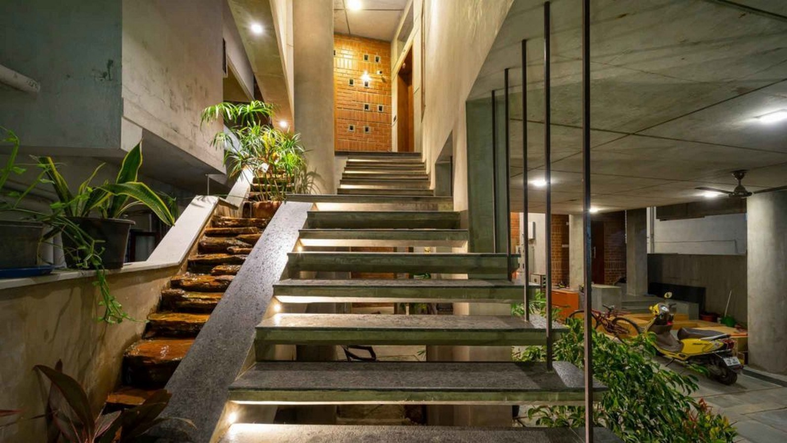 25 Concrete Staircases for Small Houses - sheet16