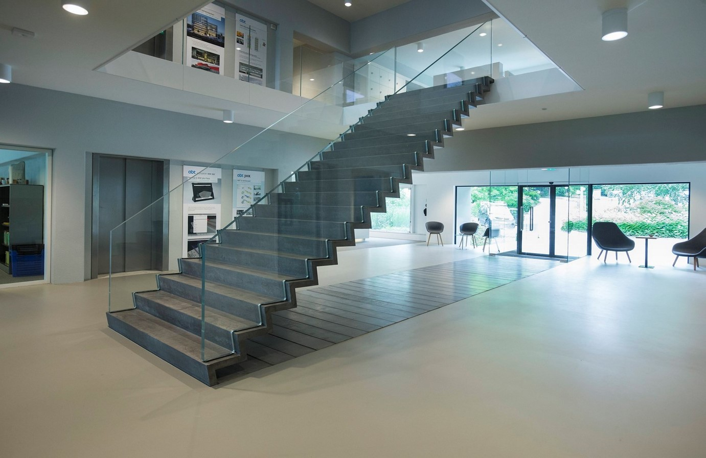 25 Concrete Staircases for Small Houses - sheet17