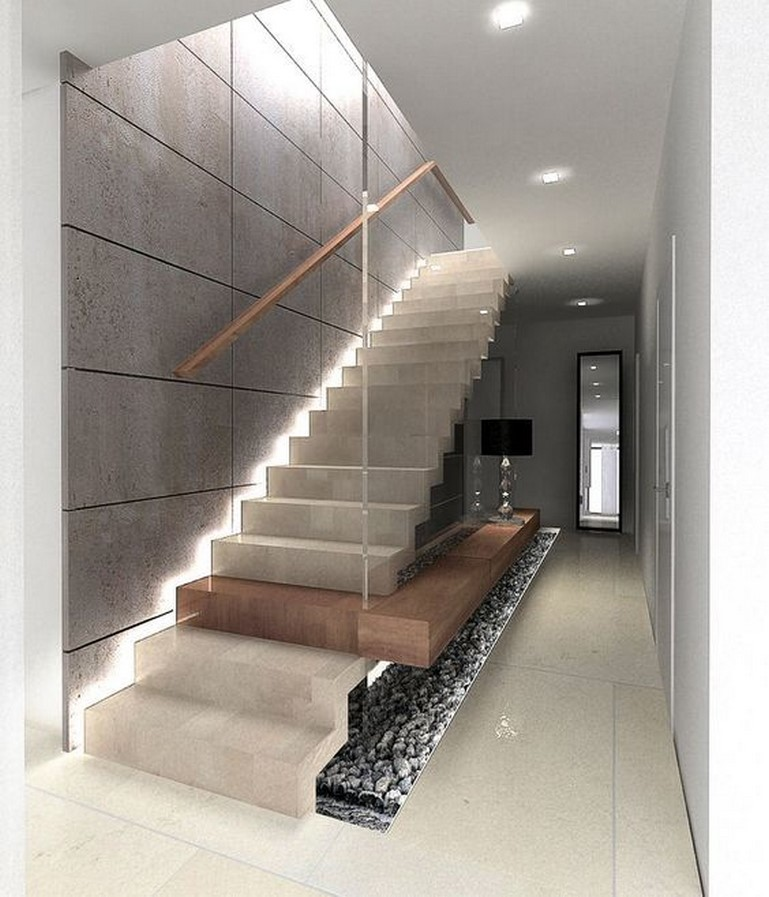 25 Concrete Staircases for Small Houses - sheet18
