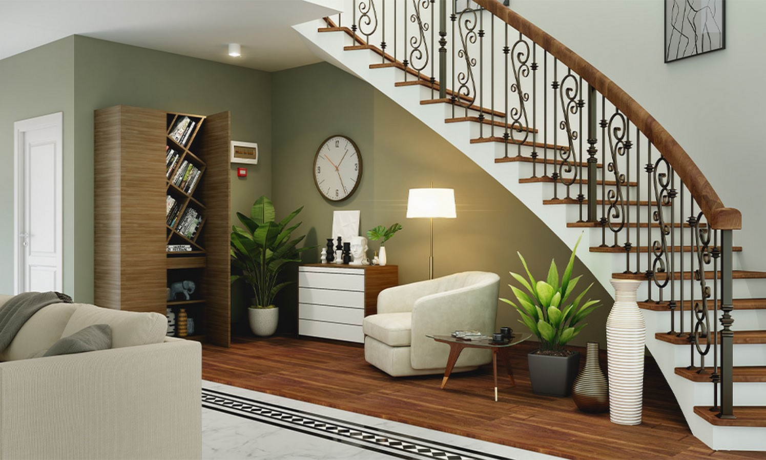 25 Concrete Staircases for Small Houses - sheet20