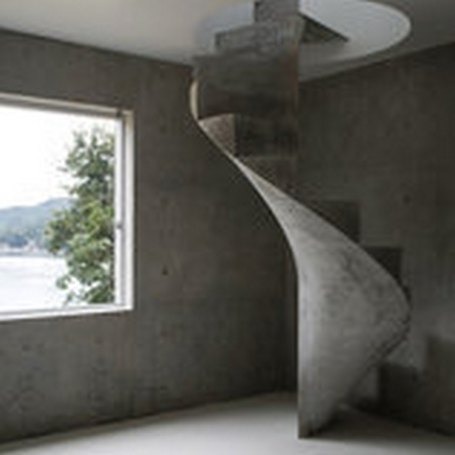 25 Concrete Staircases for Small Houses - sheet22