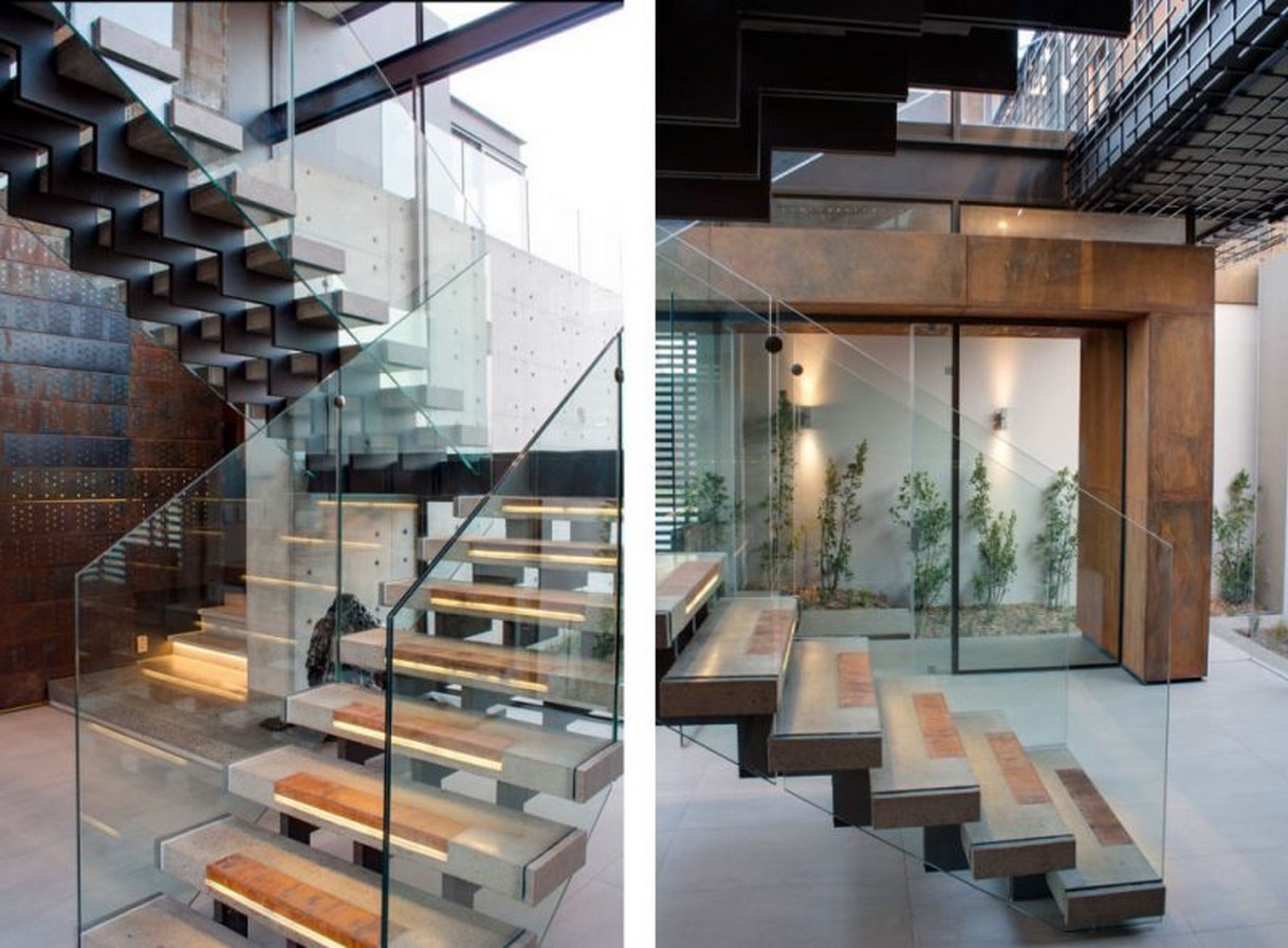 25 Concrete Staircases for Small Houses - sheet23