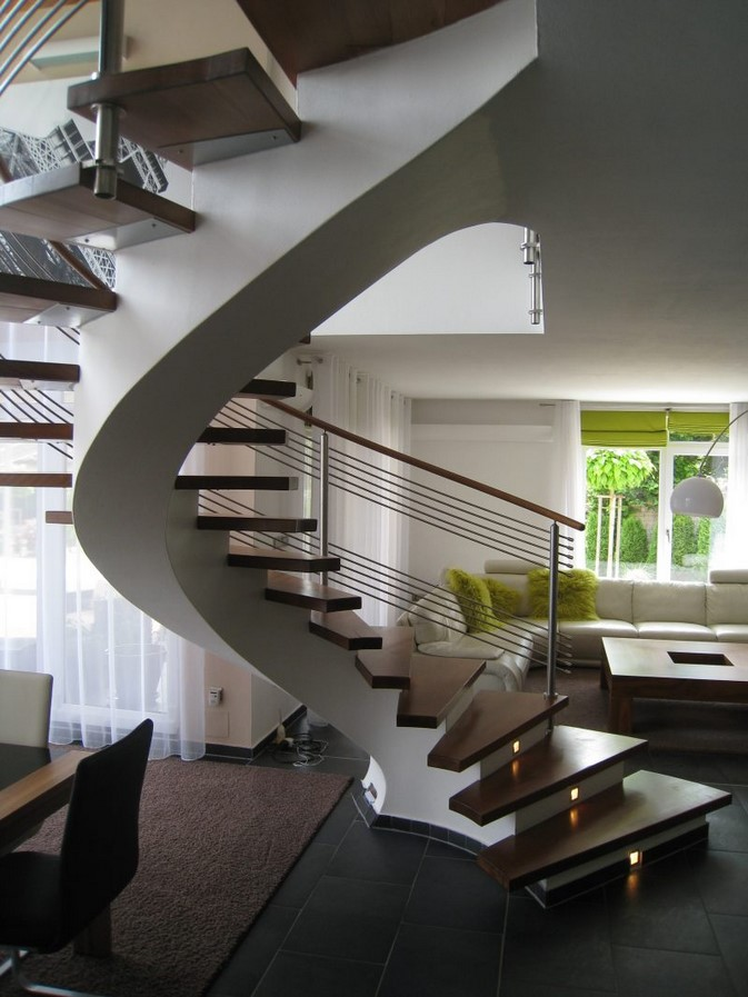 25 Concrete Staircases for Small Houses - sheet25