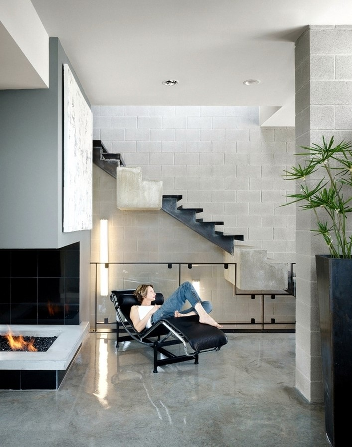 25 Concrete Staircases for Small Houses - sheet3