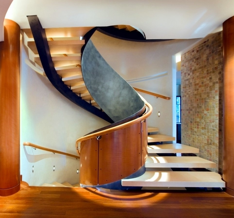 25 Concrete Staircases for Small Houses - sheet6