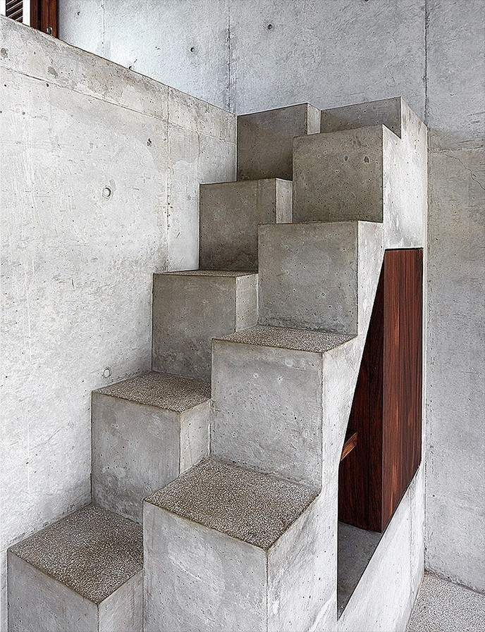 25 Concrete Staircases for Small Houses - sheet7