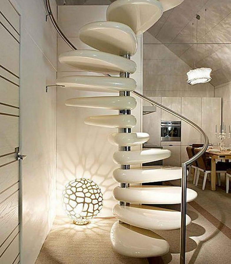 25 Concrete Staircases for Small Houses - sheet9
