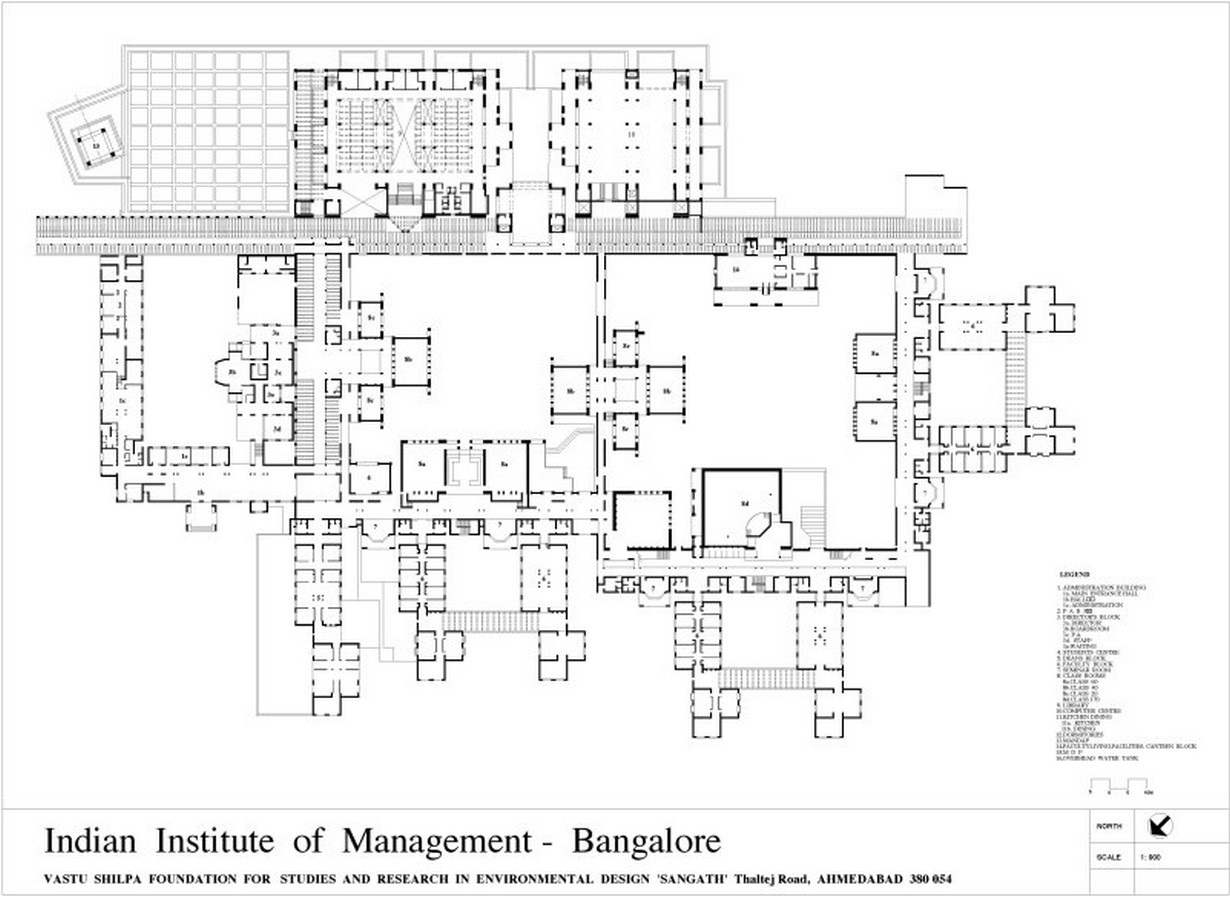 IIM, Bangalore by BV Doshi: perfect sense of scale, proportion and light - Sheet2