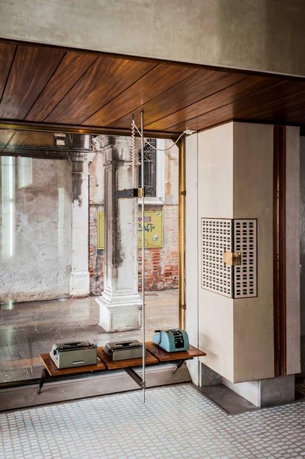 Olivetti Showroom, Carlo Scarpa, 1958 - Sheet4