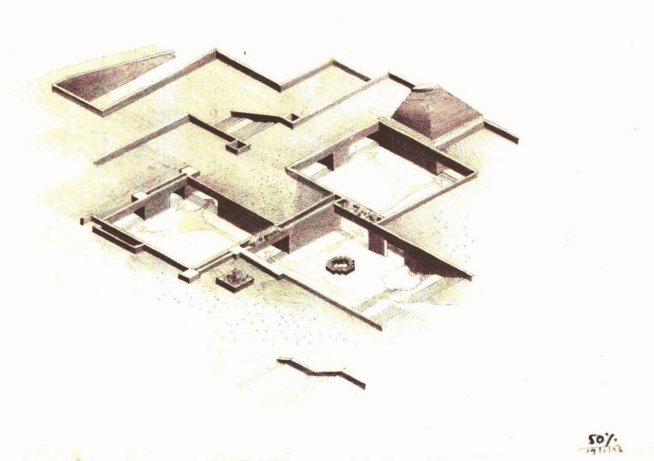 Bharat Bhavan, Charles Correa, 1982 - Sheet6