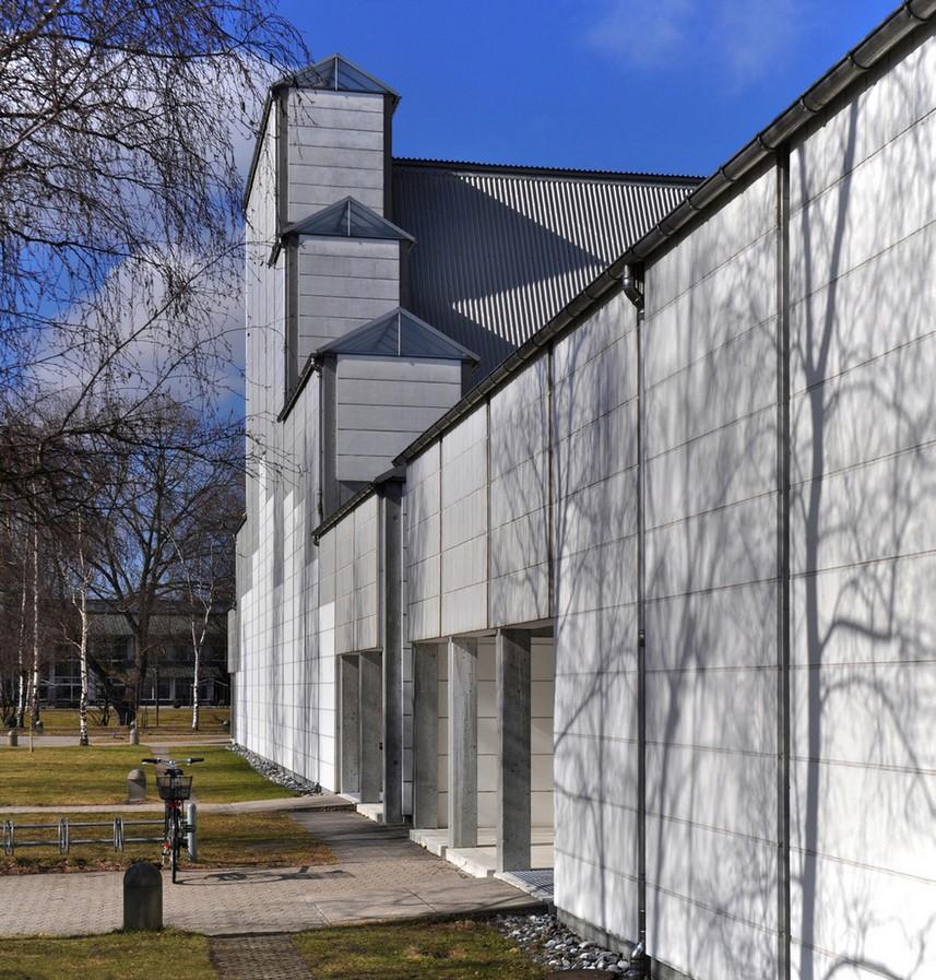 Bagsværd Church, Jørn Utzon, 1976 - Sheet2