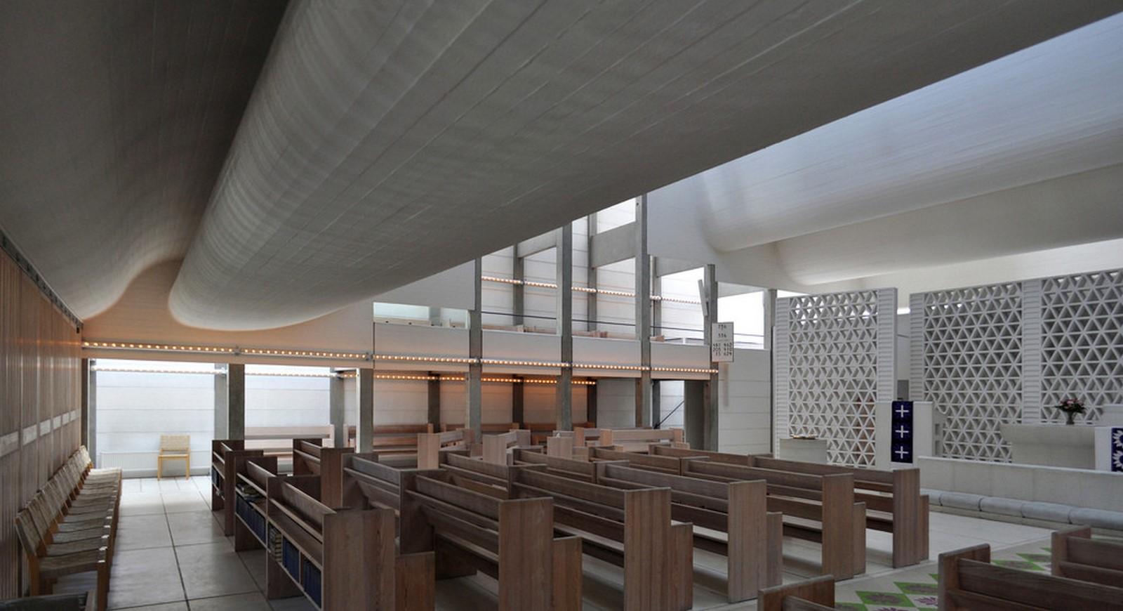 Bagsværd Church, Jørn Utzon, 1976 - Sheet4