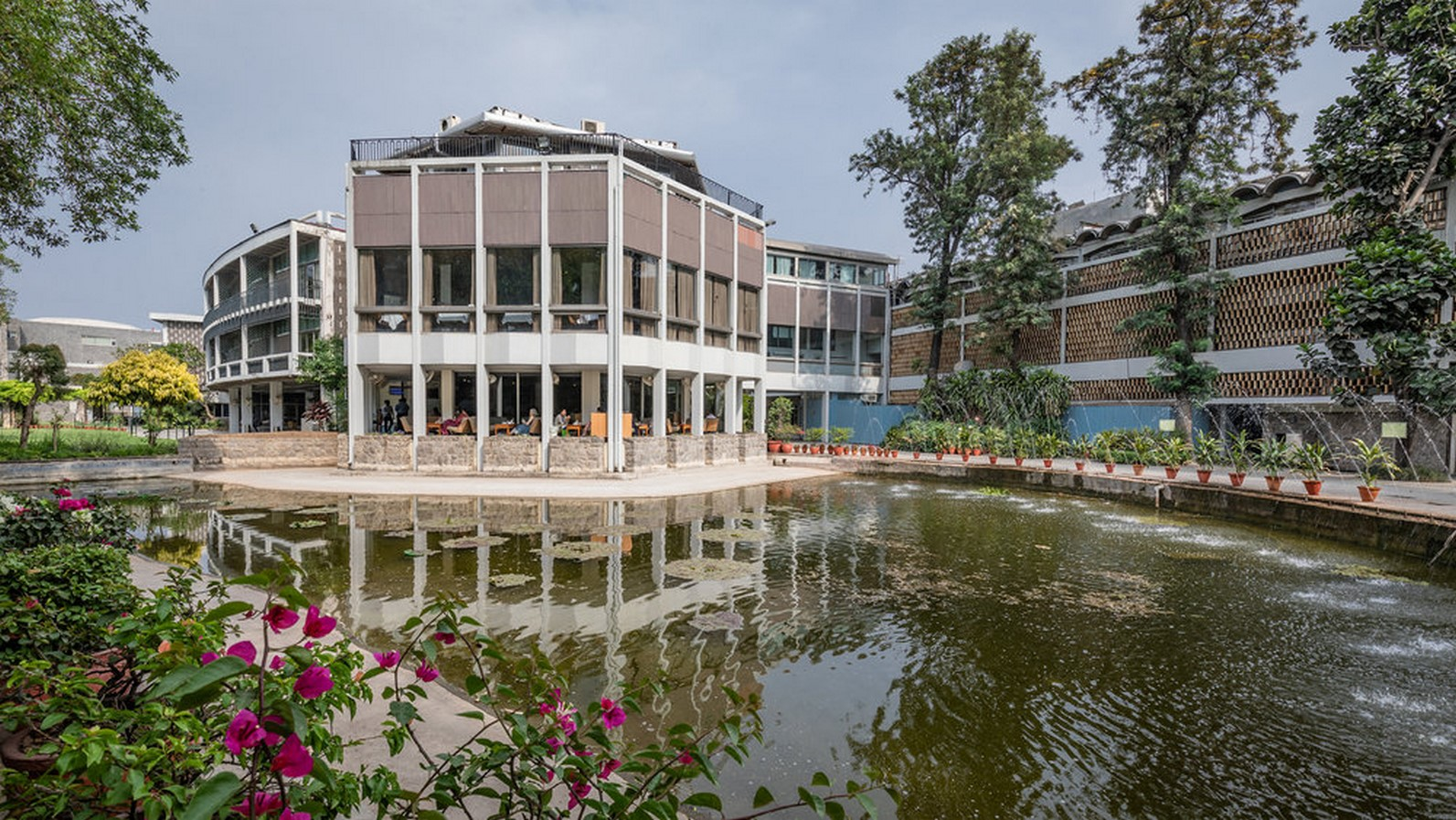India International Centre or IIC by Joseph Allen Stein: A structure of three - Sheet3