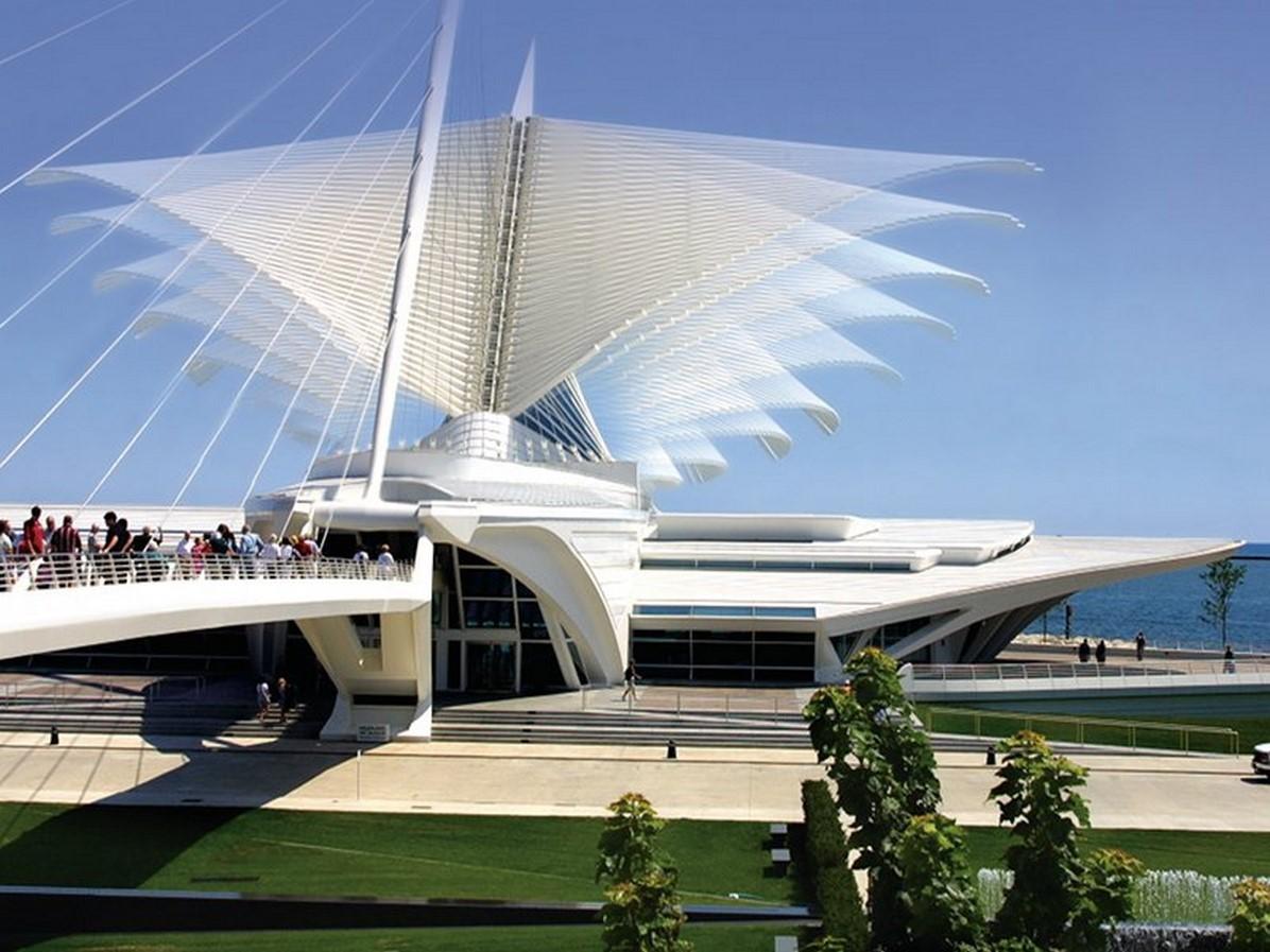Quadracci Pavilion at the Milwaukee Art Museum in Milwaukee, United States - Sheet1