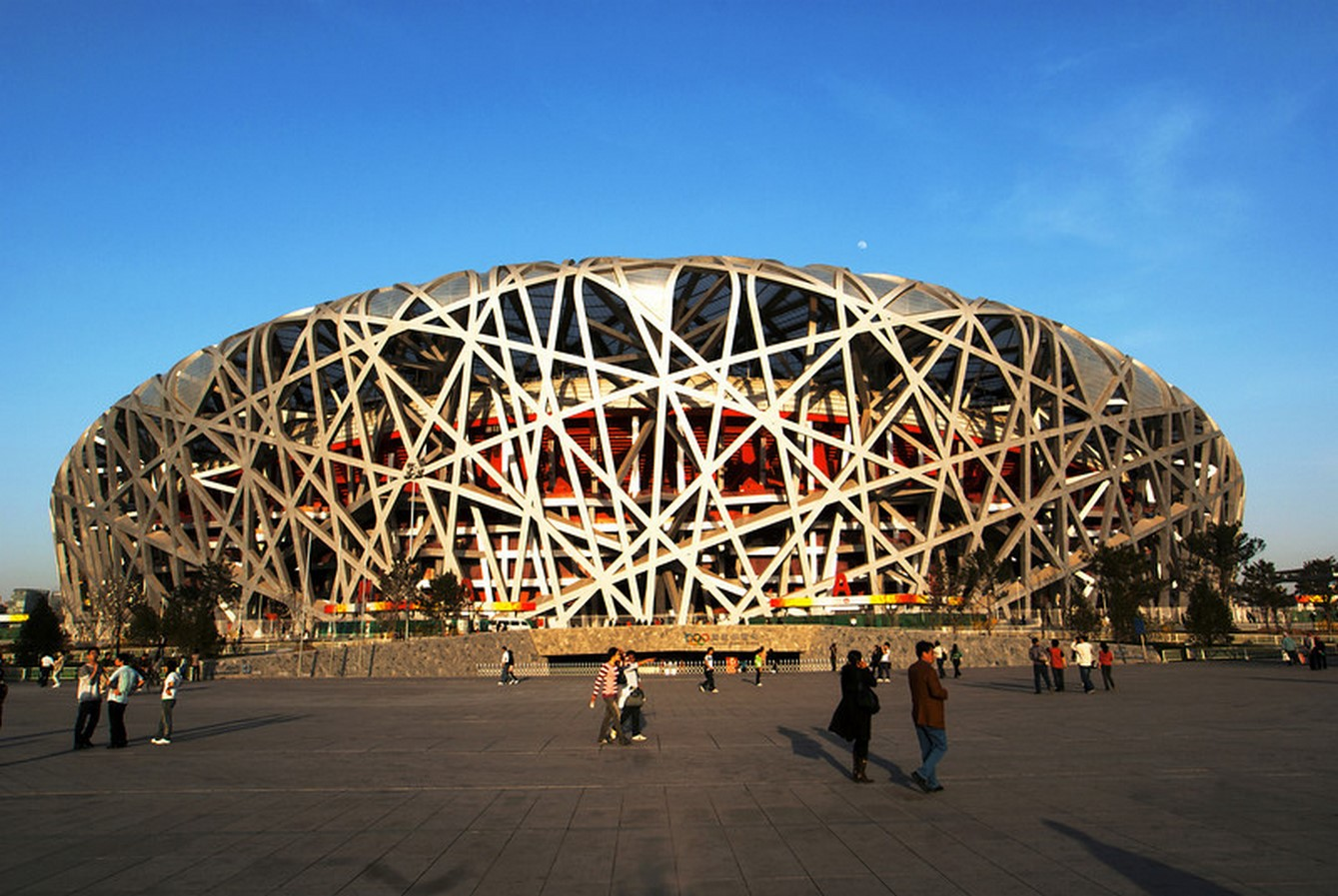 Beijing National Stadium in Beijing, China. - Sheet2