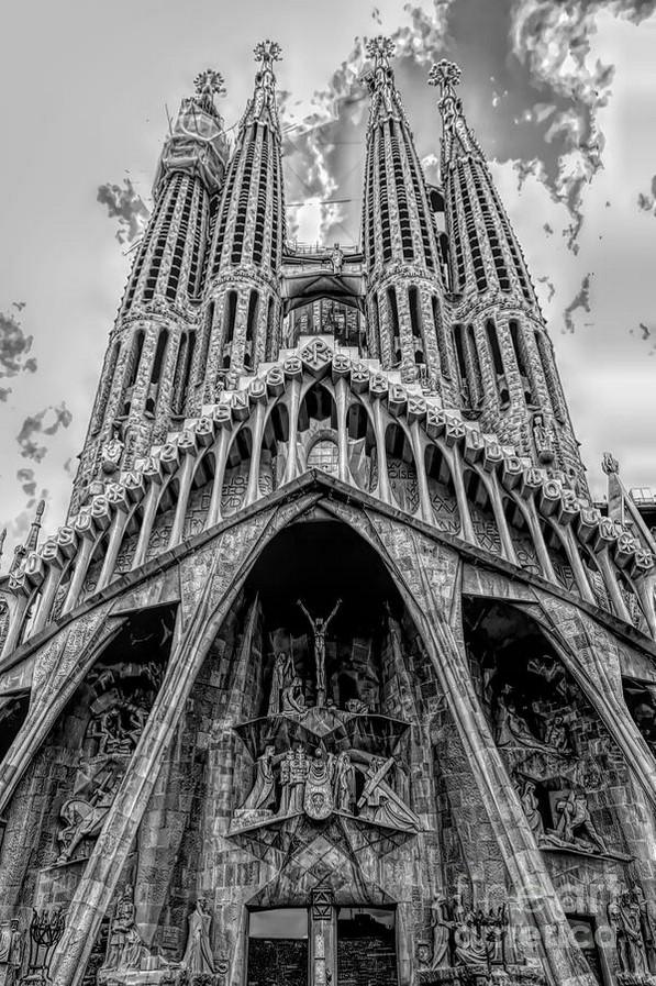 La Sagrada Familia, Barcelona, Spain. - sheet2