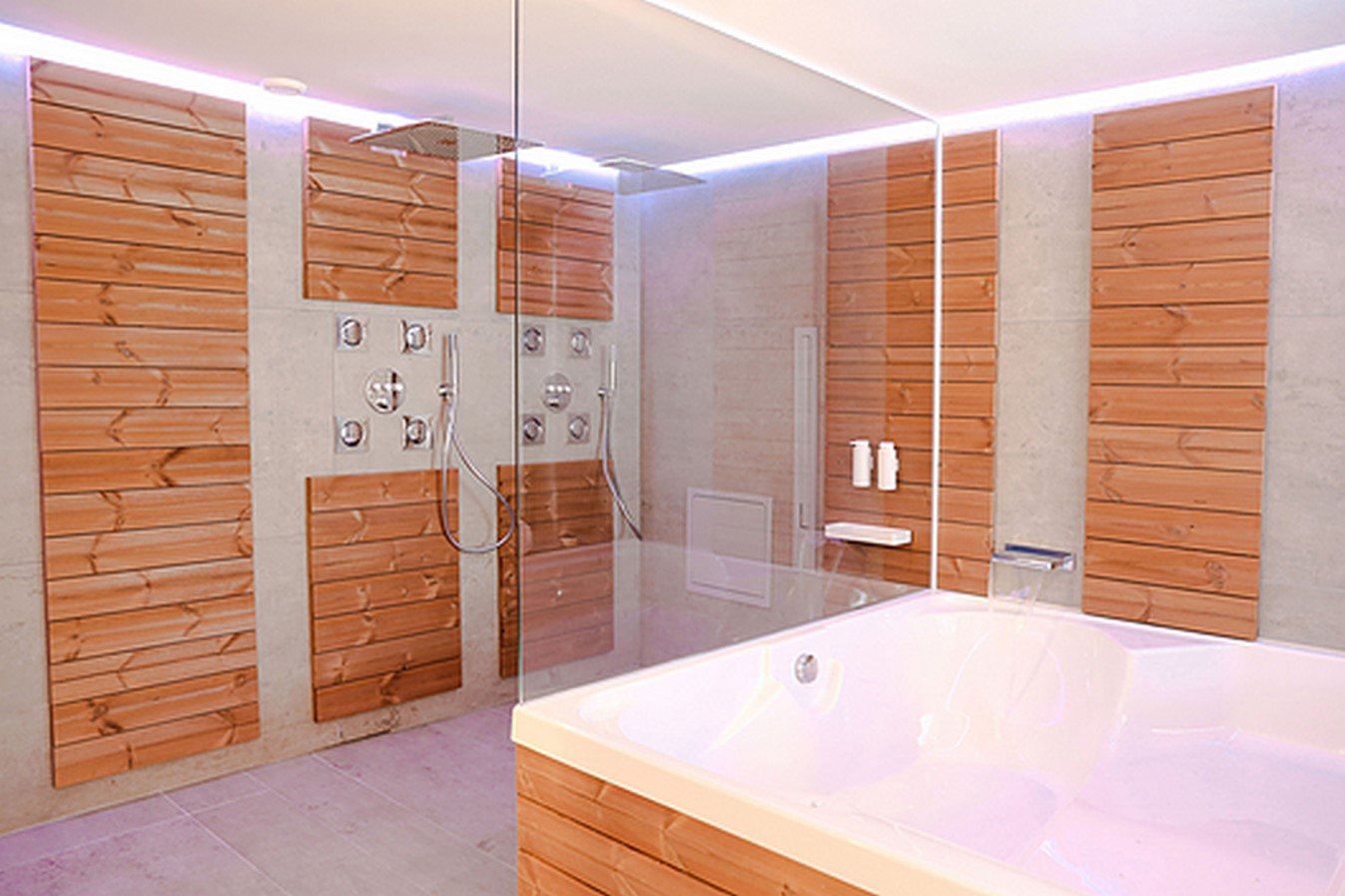 10 Ways of using of thermowood in interiors - Sheet4