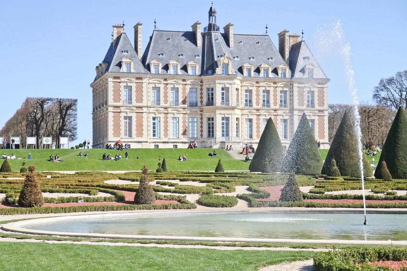 Gardens of Château de Sceaux- Sheet16