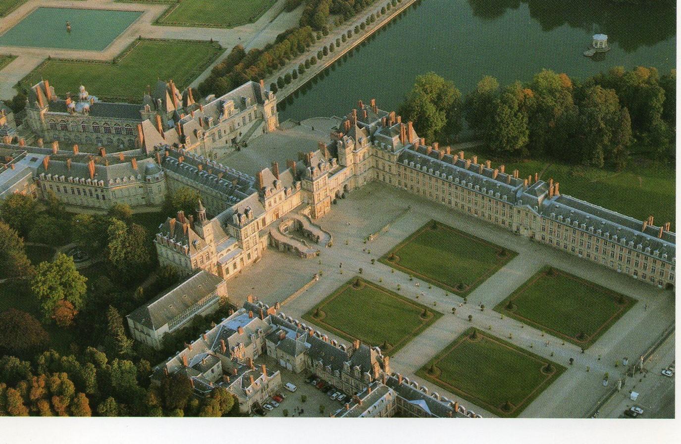 Gardens of Château de Fontainebleau- Sheet21