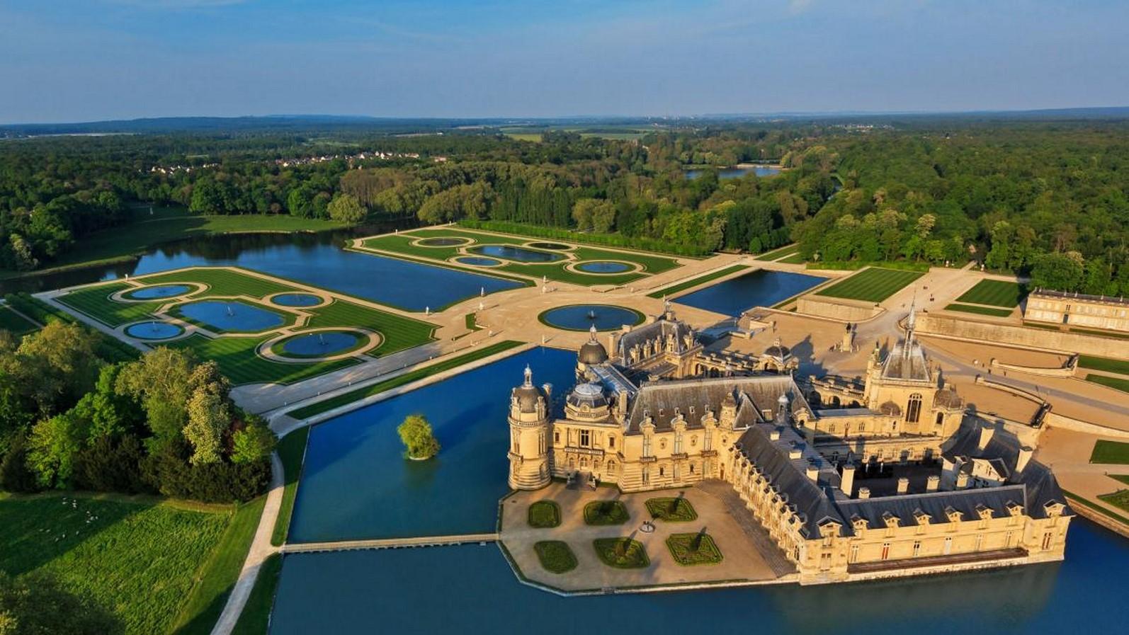 Gardens of Château de Chantilly- Sheet22