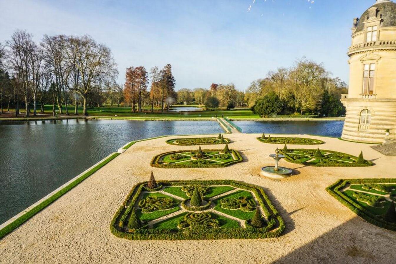 Gardens of Château de Chantilly- Sheet24