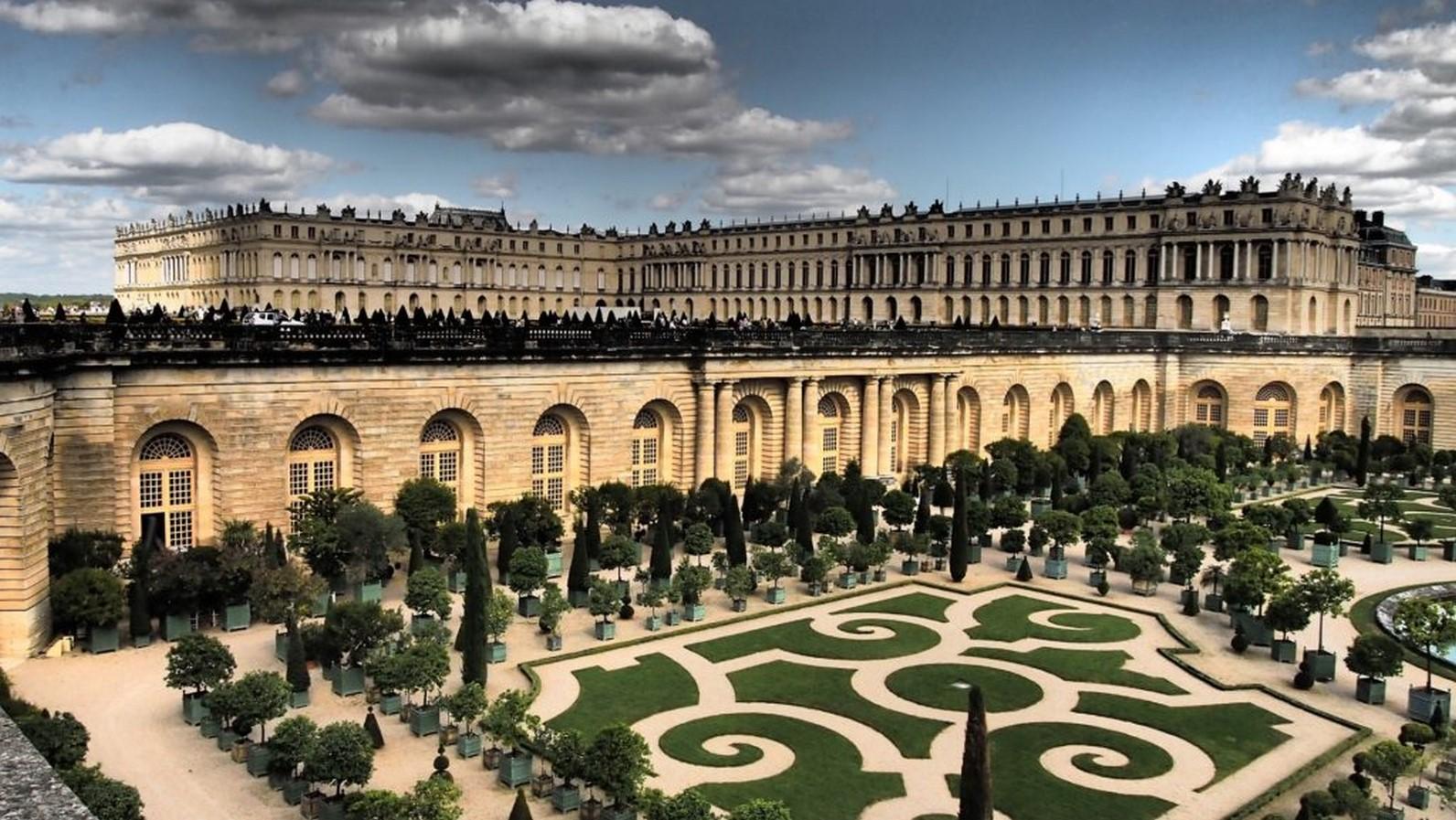Gardens of Château de Saint-Germain-en-Laye- Sheet7
