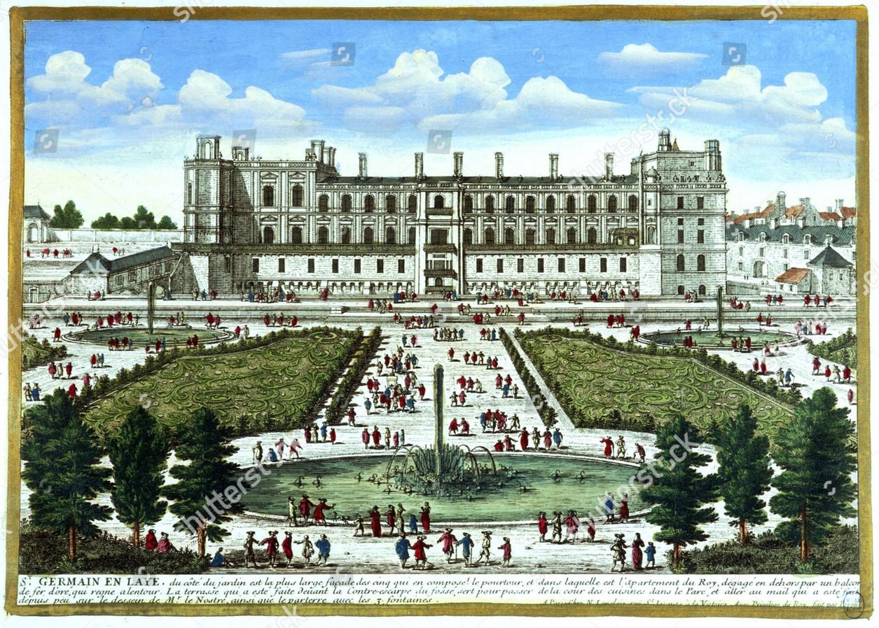 Gardens of Château de Saint-Germain-en-Laye- Sheet8