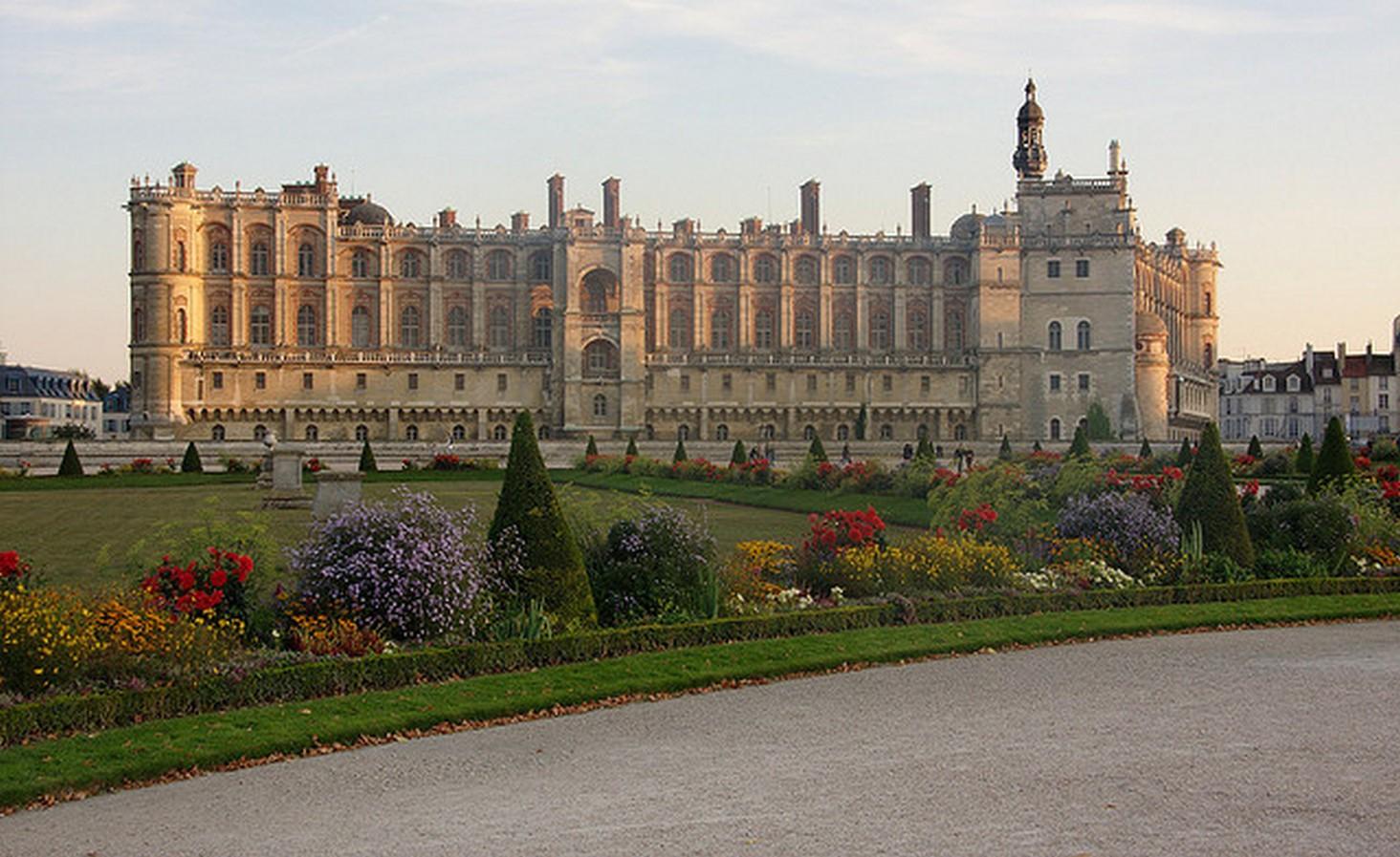 Gardens of Château de Saint-Germain-en-Laye- Sheet9