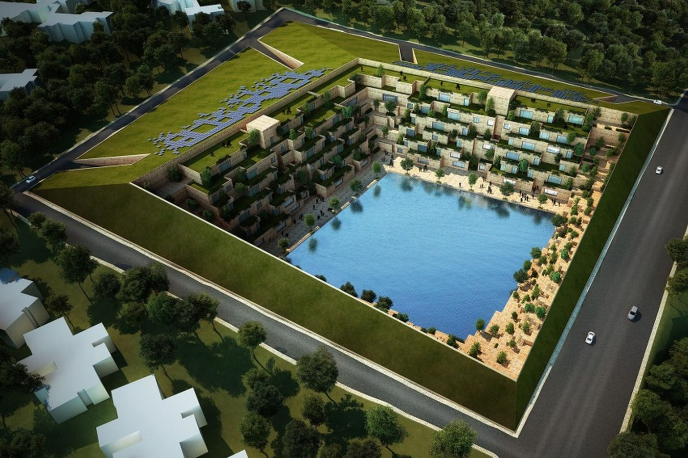 The Reservoir by Sanjay Puri Architects: A sustainable community space - Sheet1
