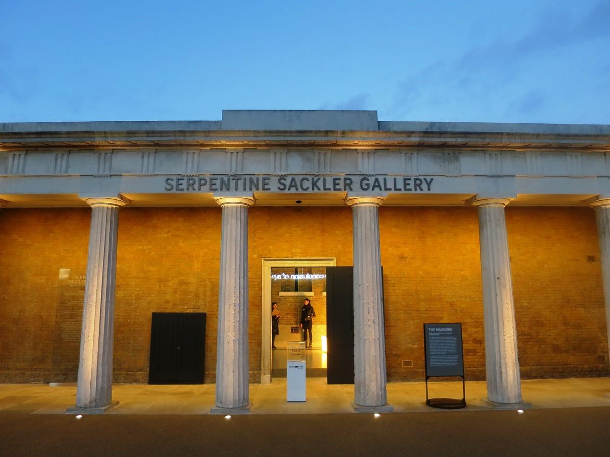 2016 Serpentine Pavilion by BIG: The unzipped walls - Sheet1