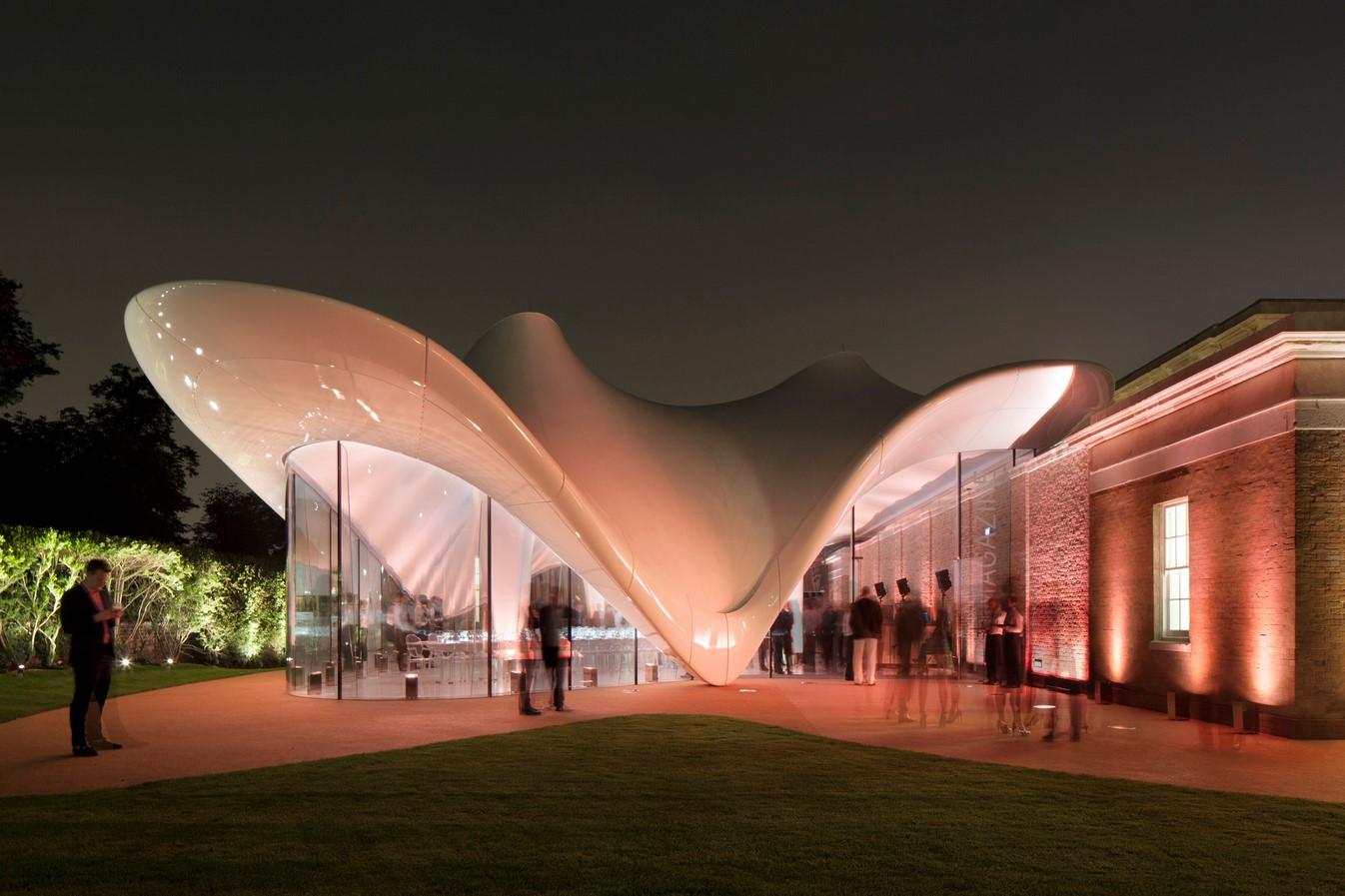 2016 Serpentine Pavilion by BIG: The unzipped walls - Sheet2